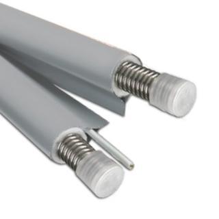 Solární potrubí 2× 10 metrů, DN16, 5 mm NANOizol, kabel