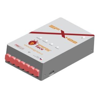 Ekvitermní regulace EFx422 s konektorem pro anténu