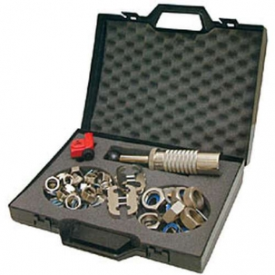 montážní kufr pro flexi hadice Witzenmann včetně sady matic, kroužků a těsnění