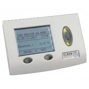 Dotykový monitor CAN-TOUCH, stříbrný rámeček
