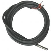 Teplotní čidlo do kolektoru, silikon kabel, Pt1000, -50°C - +240°C
