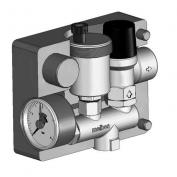 Pojistná souprava - pojistný ventil 3bar, odvzd. automat, manometr