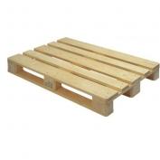 Paleta dřevěná pro přepravu solárního panelu - vratná záloha